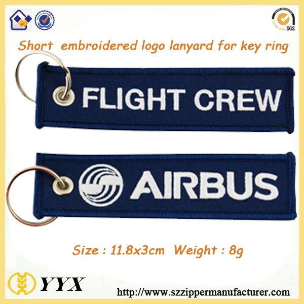 Airline buckle seat belt keychain