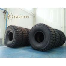 Pneu et roue OTR énormes, pneu assemblé avec roue