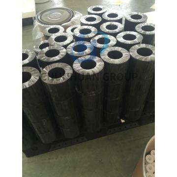PTFE Filled black/graphite tube/pipes for sealing