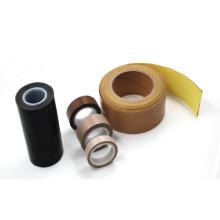 Fita adesiva de fibra de vidro PTFE de tamanho personalizado em rolos