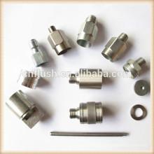 Messing stahl aluminium metallteile benutzerdefinierte herstellung cnc drehmaschine Mechanische bearbeitung
