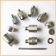 Brass steel aluminum metal parts custom fabrication cnc lathe Mechanical machining