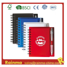 PVC Cover Notebook with Ball Pen