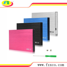2.5 USB3.0 SATA Aluminum External HDD Case
