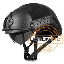 NIJ IIAI 44 USA Standard Bullet Proof Helmet Fast Ballistic Helmet Visor