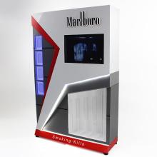 Acryl Zigarettenständer Vitrine mit Metallbasis