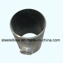 SCH80 ASTM A234 Wpb acero reduciendo la te