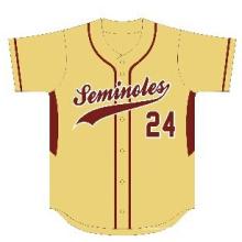 Camiseta de béisbol personalizada de alta calidad