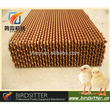 BIRDSITTER broiler layer chicken farming evaporative cooling pad