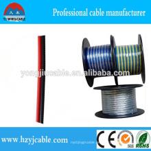Transparentes PVC-Lautsprecherkabel mit preiswertem Preis