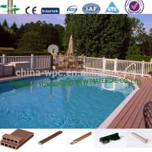 Garden wpc swimming pool