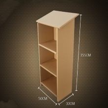Three-ply paper table high strength corrugated furniture