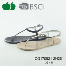 Women New Fashion Jelly Plastic Sandal