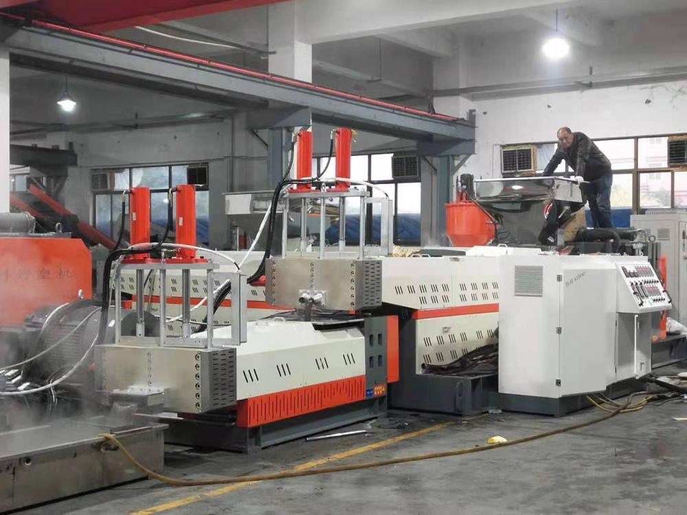 plastic pellets making machine