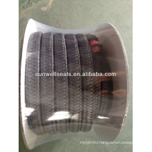 High quality Graphite PTFE Packing with oil