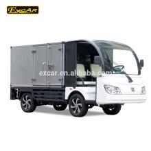 2 Sitzer Mini Sightseeing Auto elektrische Lebensmittel LKW 72V Trojaner elektrische Mini LKW