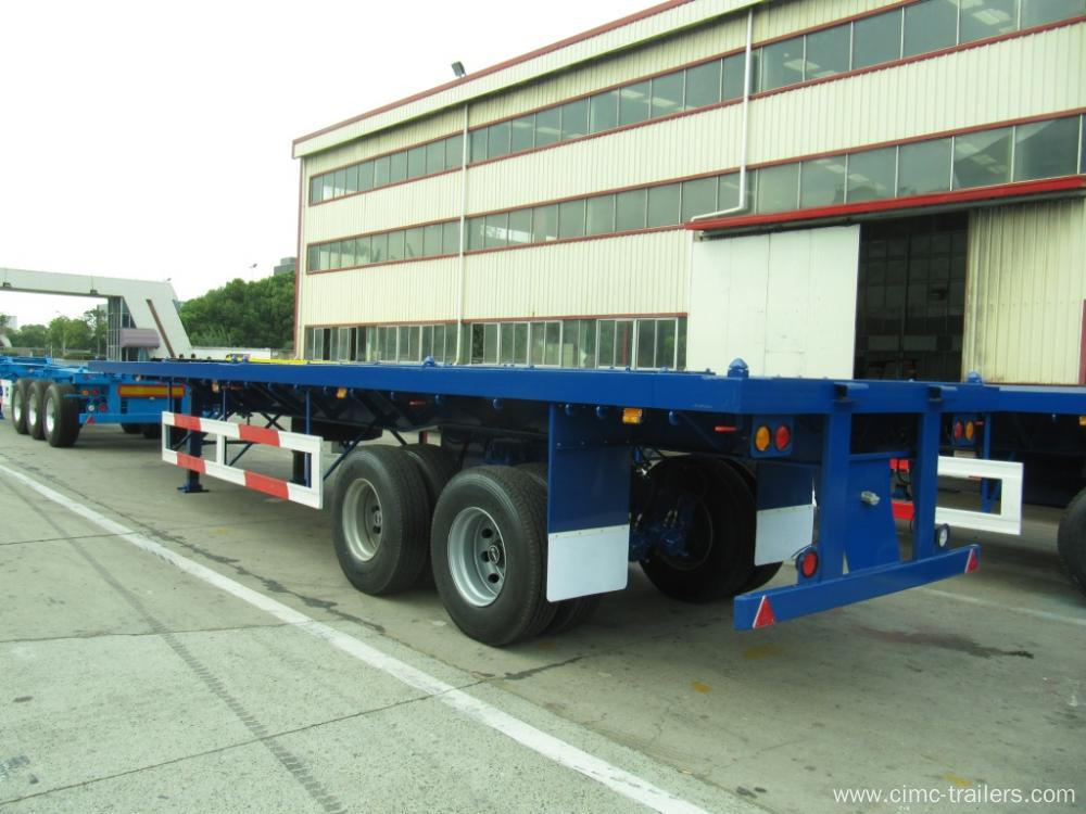 40' Two Axle Flatbed Semi-Trailer