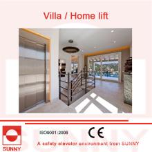 Низкий уровень шума, прочный и безопасности лифта виллы без подъема сторону, СН-ЭВ-011