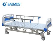 Cama ajustável elétrica paciente da mobília do hospital SK005 com resto traseiro