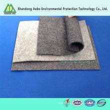 Personalizado de 5 mm de espesor 750g 100% fieltro de lana
