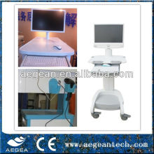 ABS-Plastikdrahtloser Krankenpflege-Computer-Medikations-Wagen