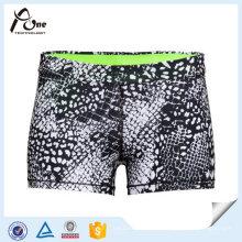 Moda Desgaste Desportivo Popular Impresso Shorts para Mulheres