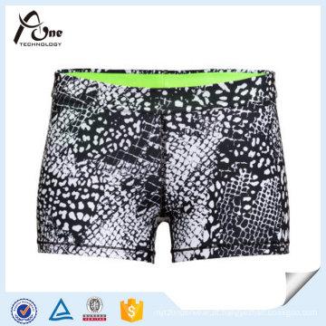 Sublimação Running Shorts Mulheres Últimas Soft e conforto Sports Wear