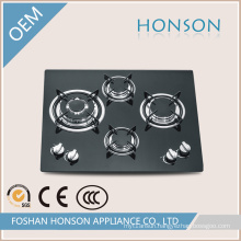 Good Price Black Tempered Glass China Supplier Gas Stove Cooker