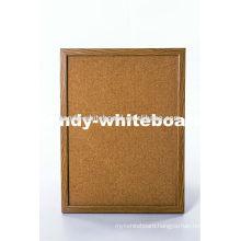 wood frame cork notice board sandy-whiteboard