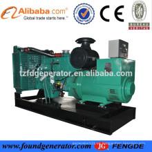 CE aprobó el precio del fabricante del generador de generador de energía diesel de 350 kw para uso industrial