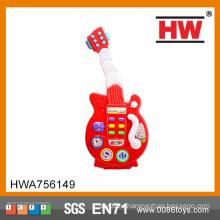 Горячие продажи B / O Дети пластиковые игрушки Танцы электрогитары наборы