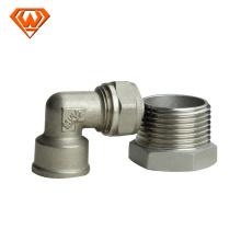 aço inoxidável sanitário de montagem rápida conectar fabricação manufatura