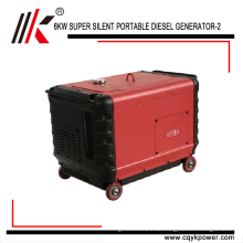 china portable generator diesel 7kva with price, 7 kw diesel power generator for sale, small silent diesel generator 7.5 kva
