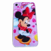 Cartoon mobile phone protective film for iPhone 4