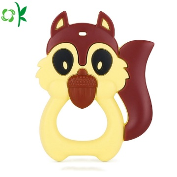 Produk Baru Animal Shape Baby Silicone Teether