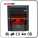 GS Approved 220V Free Standing Cast Iron Decorative 2 Sided Electric Fireplace Insert Heater