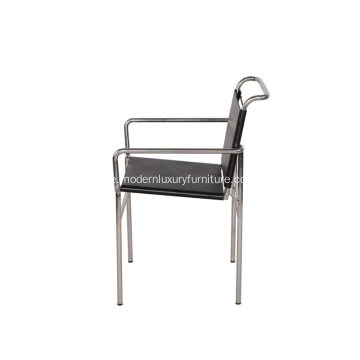 Modern Design Black Leather Eileen Gray Roquebrune Chair