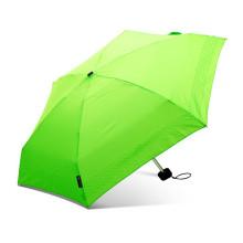 Promoción de alta calidad súper ligero plegable mini 5 paraguas con doblez