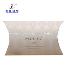 ¡Acepte modificado para requisitos particulares! Caja de almohada de papel corrugado de Kraft que empaqueta las cajas XinXiang