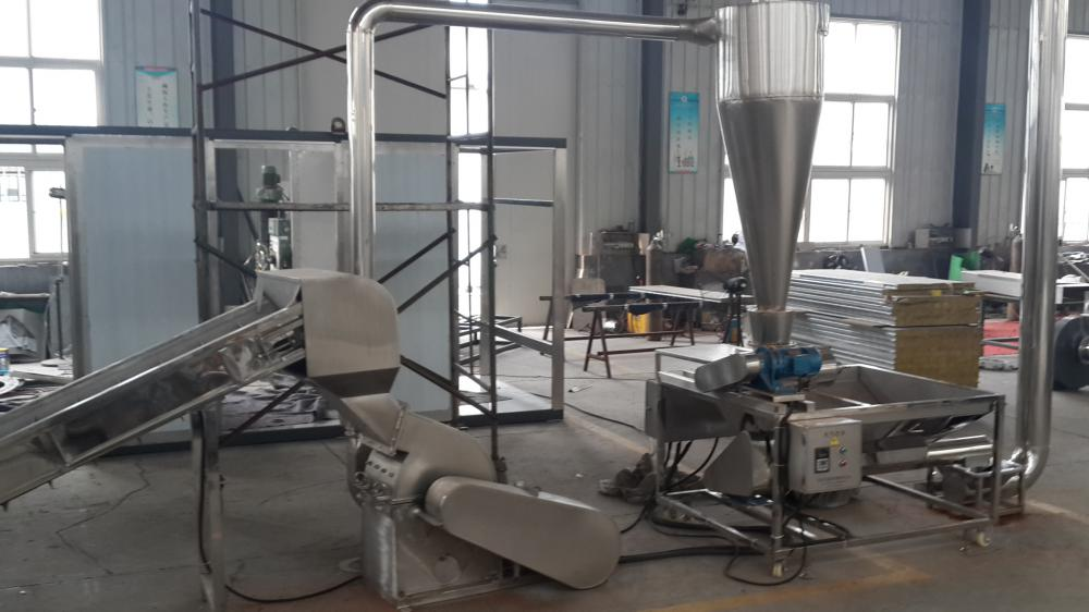 The Hammer Mill for chilli processing