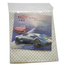 1PCS Moto Car Clean Cloth with Blue Mini DOT