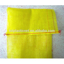 PP Tubular Bulk Mesh Bags With Handle 40kg