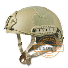 Army bulletproof helmet NIJ IIIA with night vision mounting system