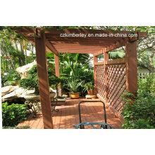 Pavillon WPC vert de haute qualité