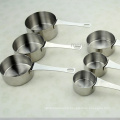 6 PCS Stainless Steel Measuring Cup