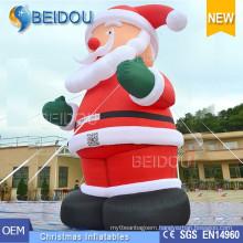 Giant Inflatable Christmas Decoration Santa Christmas Inflatable Santa