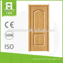 New design hot sale interior elegant PVC door for bathroom
