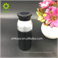 cosmetic packing bottle 30ml 60ml black airless vacuum pump lotion bottle for man
