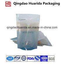 Laminierte Plastic Gesichtsmasken Taschen mit Tear Mouth und Ziplock