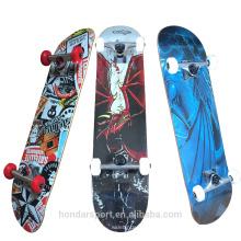 2017 31 * 8 pulgadas baratas buenos patines completos para la promoción